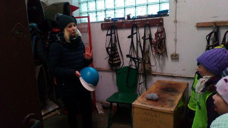 Zajęcia przyrodnicze w Folwarku Brodno
