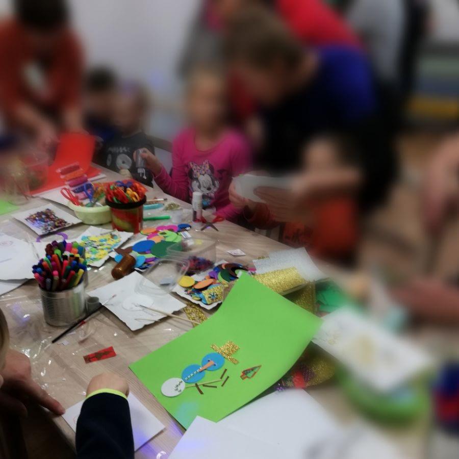 Warsztaty świąteczne w Folwarku
