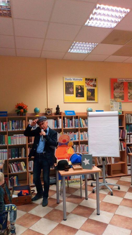 Spotkanie z pisarzem Wojciechem Widłakiem