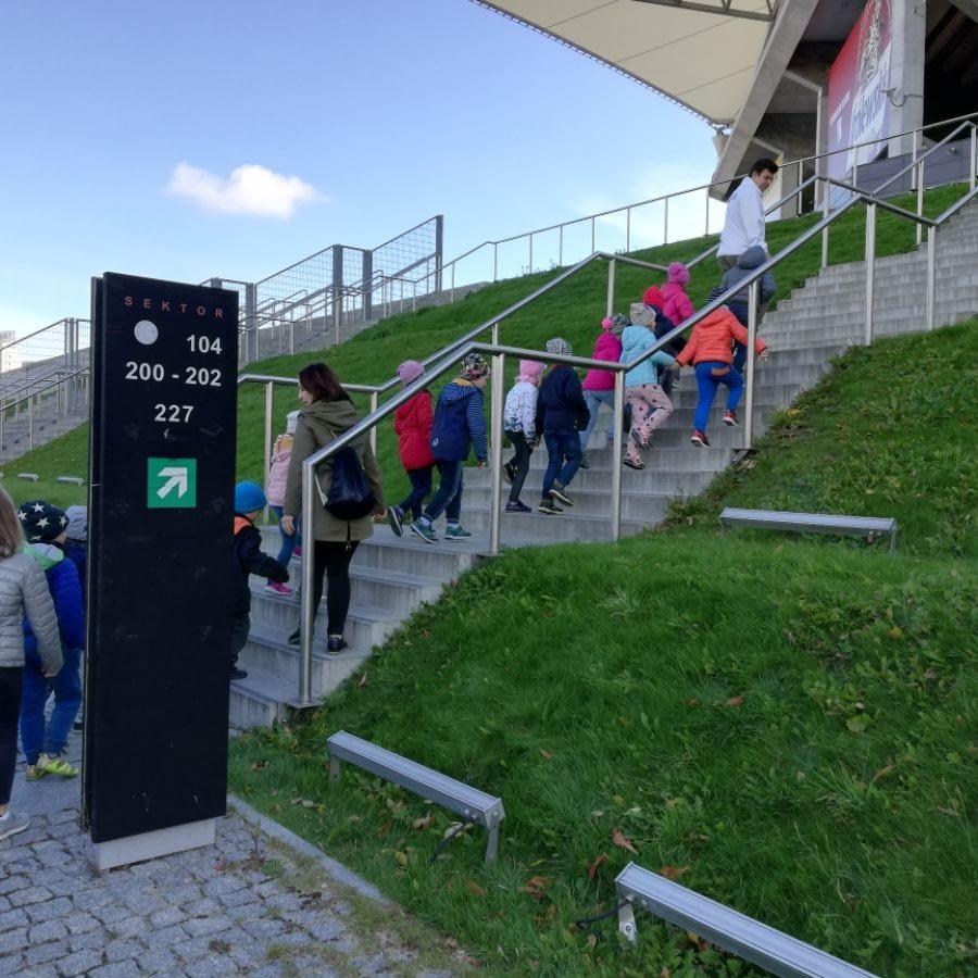 Wycieczka na stadion Legii